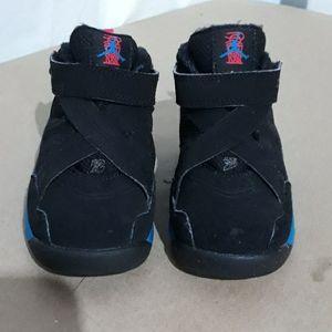 Nike Air Jordan 8 Toddler Size 7C